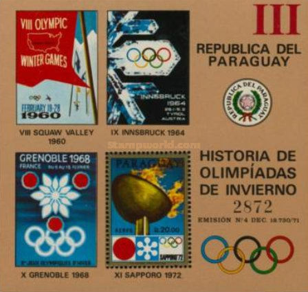 [Airmail - History of the Olympic Games, type ]