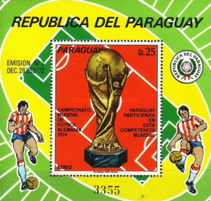 [Airmail - Football World Cup - West Germany 1974, Typ ]