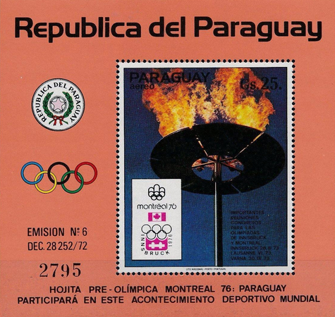 [Airmail - Olympic Games - Montreal, Canada (1976), Typ ]
