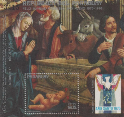 [Airmail - Christmas - Holy Year - Paintings, Typ ]