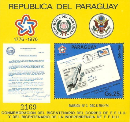 [Airmail - The 200th Anniversary of American Post, Typ ]