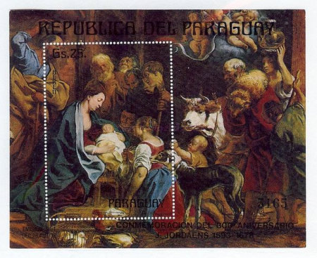 [Airmail - The 300th Anniversary of the Death of Jacob Jordaens, 1593-1678, Typ ]