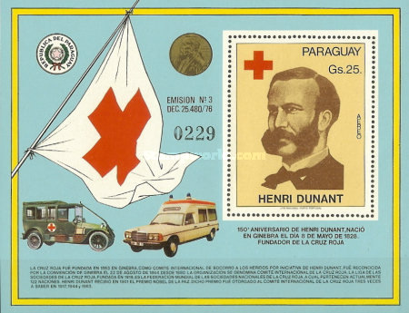 [Airmail - The 150th Anniversary of the Birth of Henri Dunant, 1828-1910, Typ ]