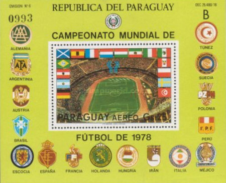 [Airmail - Scenes of the Play in the Football World Cup - Argentina (1978), Typ ]
