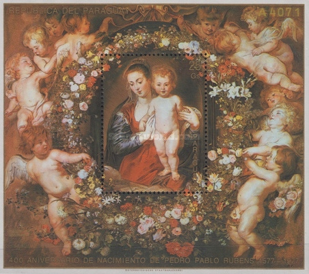 [Airmail - Christmas and Madonna Paintings from the Museum of Art History, Vienna, Typ ]