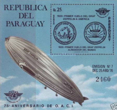 [Airmail - History of Aviation - The 35th Anniversary of International Civil Aviation Organization (ICAO), Typ ]