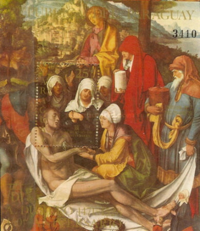 [Airmail - Durer Paintings - International Year of the Child, Typ ]