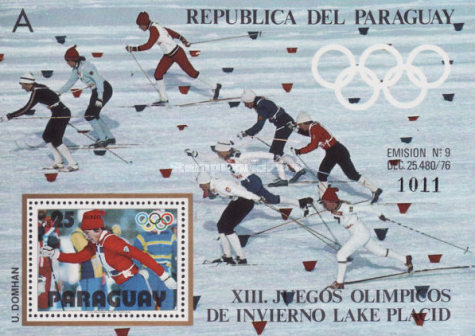 [Airmail - Winter Olympic Games - Lake Placid, USA (1980), Typ ]