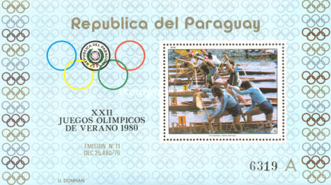 [Airmail - Olympic Games - Moscow, Russia (1980), Typ ]