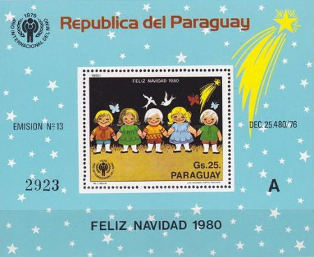 [Airmail - Christmas and International Year of the Child, Typ ]