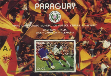 [Airmail - Winners of Football World Cup - Spain, Typ ]