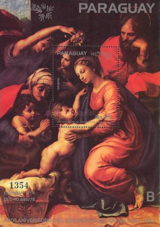 [Airmail - The 500th Anniversary of the Birth of Raphael, 1483-1520 - Christmas, Typ ]