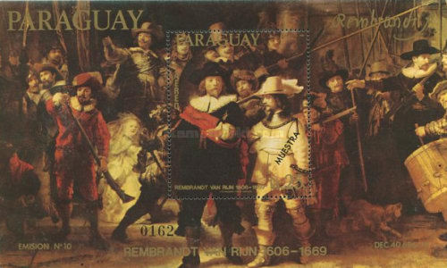 [Airmail - Paintings by Rembrandt, Typ ]