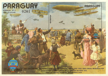 [Airmail - The 200th Anniversary of Aviation, Typ ]
