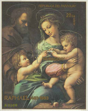 [Airmail - The 500th Anniversary of the Birth of Raphael, 1483-1520, Typ ]