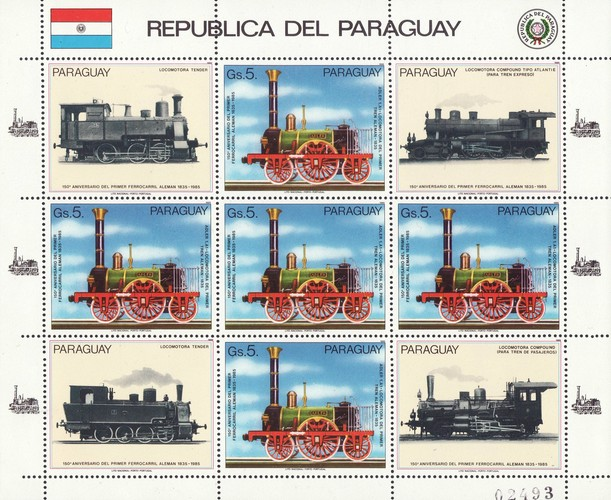 [The 150th Anniversary of German Railways, Typ ]