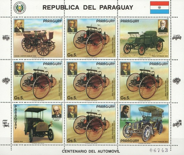 [The 100th Anniversary of Automobiles, Typ ]