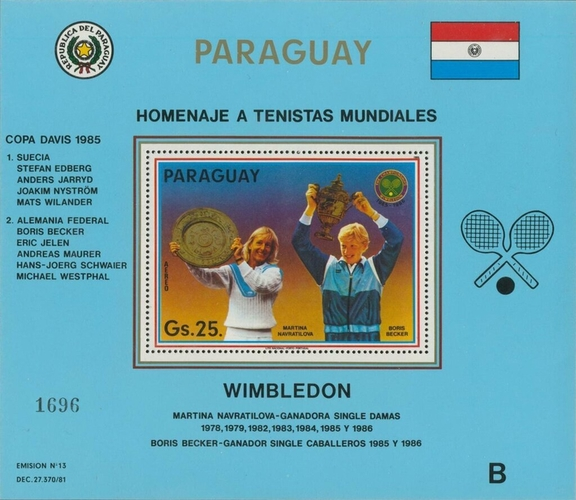 [Airmail - Tennis Players, Typ ]