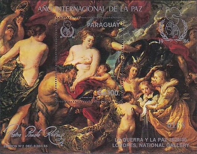 [Airmail - International Year of Peace - Rubens Paintings, Typ ]