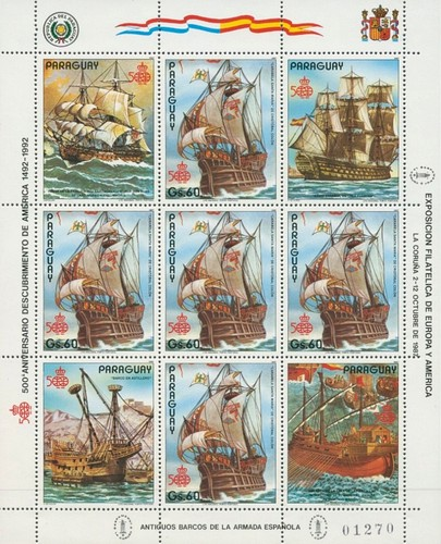 [The 500th Anniversary of the Discovery of America, 1992, Typ ]