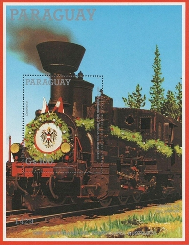 [Airmail - The 150th Anniversary of Railroad in Austria, Typ ]