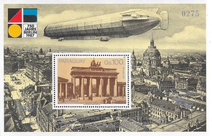 [Airmail - The 750th Anniversary of Berlin - International Stamp Exhibition
