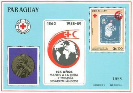 [Airmail - The 125th Anniversary of International Red Cross, Typ ]