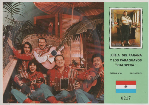 [Airmail - Music of Paraguay, Typ ]