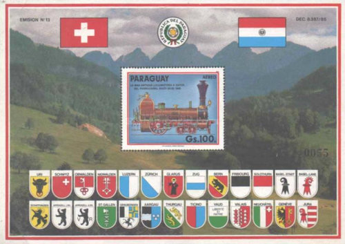 [Airmail - The 700th Anniversary of Swiss Confederation, Typ ]
