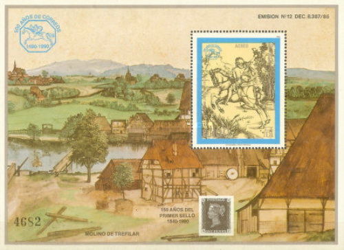 [Airmail - The 500th Anniversary of International Post Connections in Europe, Typ ]