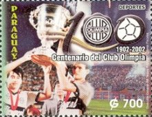 [The 100th Anniversary of Olimpia Football Club, type ]