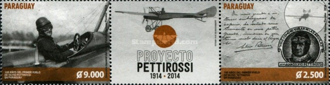 [The 100th Anniversary of the First Flight of Silvio Pettirossi, Typ ]