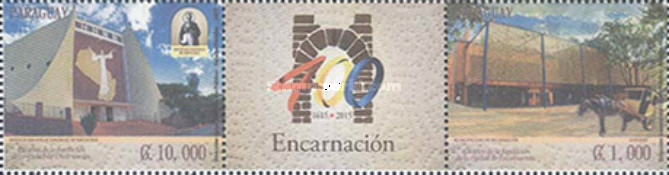 [The 400th Anniversary of the City of Encarnación, Typ ]