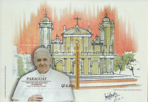 [Pope Francis Visits Paraguay, Typ ]