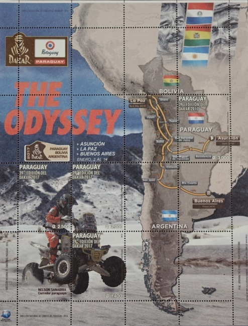 [Dakar - The Odyssey, type ]
