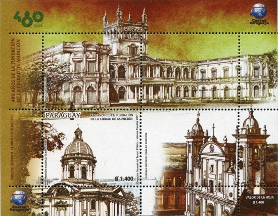 [The 480th Anniversary of the City of Asuncion, type ]