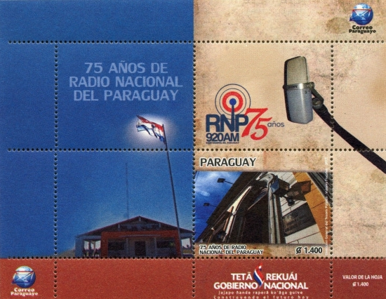 [The 75th Anniversary of the National Radio of Paraguay, type ]
