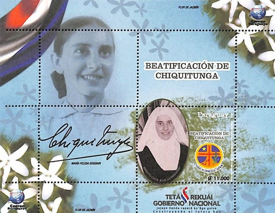[Chiquitunga - First Beatification of Paraguayan Woman, Typ ]