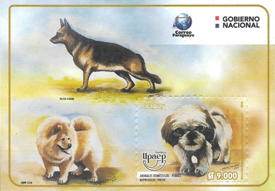 [World Post Day - America UPAEP Issue - Domestic Animals, Typ ]