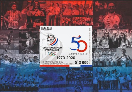 [The 50th Anniversary of the Paraguay Olympic Committee, type ]