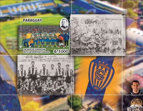 [The 100th Anniversary of the Founding of the Luqueño Sports Club, type ]