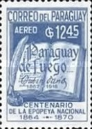 [Airmail - The 50th Anniversary of the Death of Ruben Dario, Poet, 1867-1916, Typ AAU1]