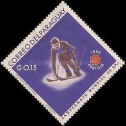 [World Ski Championships - Portillo, Chile and Winter Olympic Games - Grenoble, France 1968, Typ ABF]