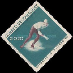 [World Ski Championships - Portillo, Chile and Winter Olympic Games - Grenoble, France 1968, Typ ABG]