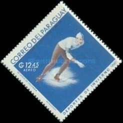 [Airmail - World Ski Championships - Portillo, Chile and Winter Olympic Games - Grenoble, France 1968, Typ ABG1]