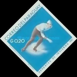 [Airmail - World Ski Championships - Portillo, Chile and Winter Olympic Games - Grenoble, France 1968, Typ ABG2]