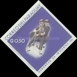 [Airmail - World Ski Championships - Portillo, Chile and Winter Olympic Games - Grenoble, France 1968, Typ ABH3]