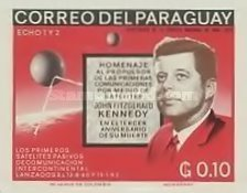[Airmail - The 3rd Anniversary of the Death of John F. Kennedy, 1917-1963, Typ ABO2]