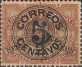 [Telegraph Stamps Overprinted & Surcharged, type AD]