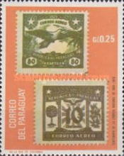 [The 100th Anniversary of the First Postage Stamps of Paraguay (1970), Typ AFE]